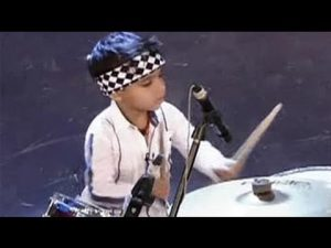 3 Year Old Drums Like a Pro